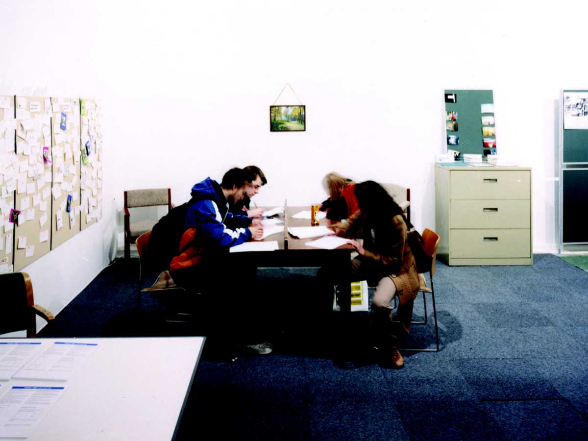 Ella Gibbs, Spare Time Job Centre, Chisenhale Gallery, 2003