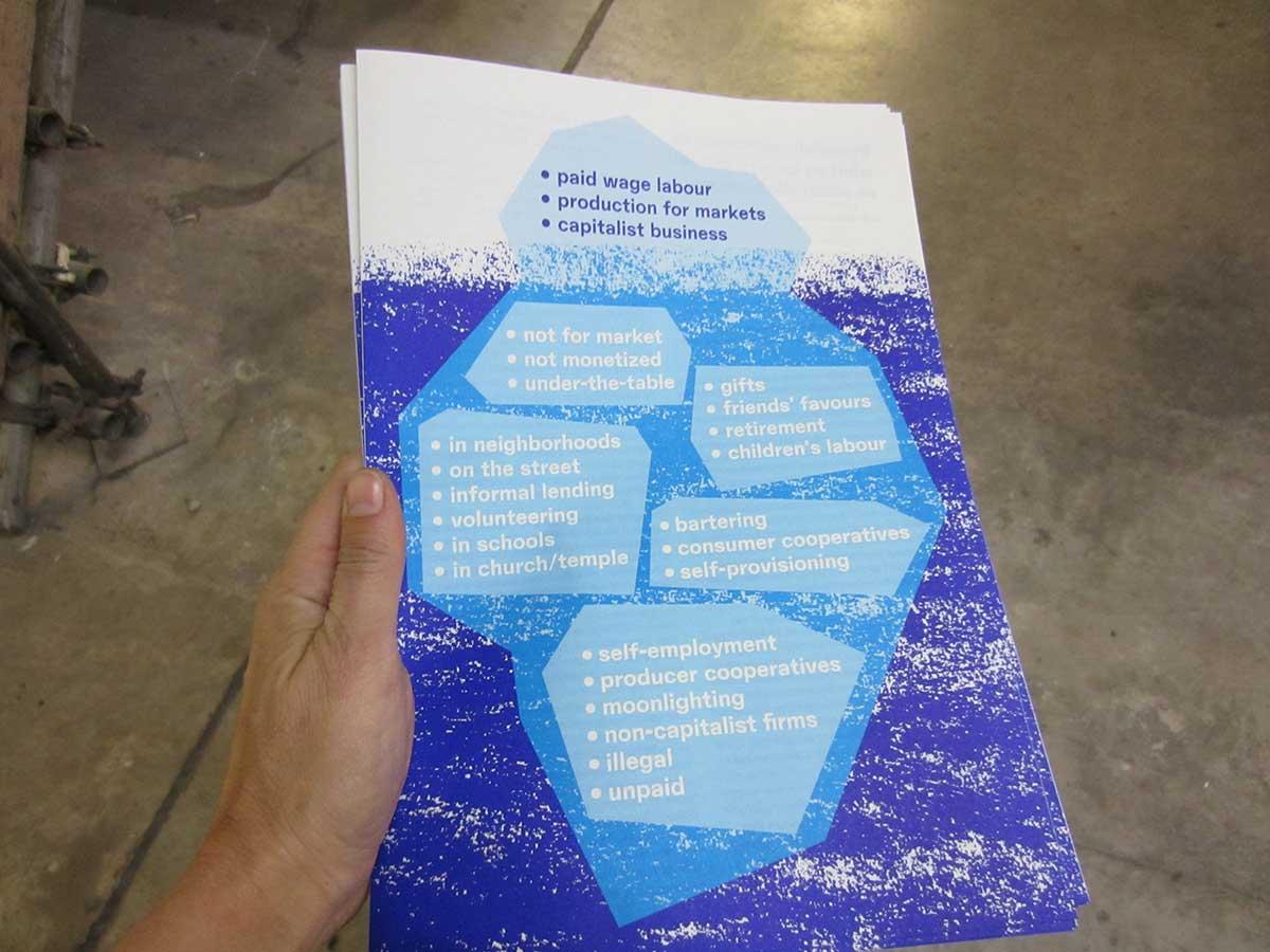 Katherine Gibson essay, iceberg by James Langdon